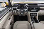 VW Volkswagen Atlas 2017 Midsize SUV Vierzylinder Benziner TSI VR6 4Motion Allradantrieb Car-Net Smartphone App-Connect Konnektivität Android Auto Apple CarPlay MirrorLink Internet Active Info Display Digital Cockpit Interieur Innenraum