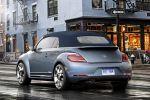 VW Volkswagen Beetle Cabrio Denim Concept 2015 Jeans Käfer Disc TSI TDI DSG Heck Seite