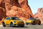 VW Volkswagen Beetle Dune Coupe Cabrio Crossover Offroad Canyon Käfer Sandstorm Yellow Metallic Internet Smartphone App Connect Konnektivität Front Seite
