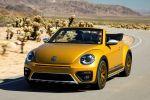VW Volkswagen Beetle Dune Cabrio Crossover Offroad Canyon Käfer Sandstorm Yellow Metallic Internet Smartphone App Connect Konnektivität Front Seite