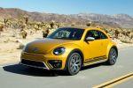 VW Volkswagen Beetle Dune Coupe Crossover Offroad Canyon Käfer Sandstorm Yellow Metallic Internet Smartphone App Connect Konnektivität Front Seite