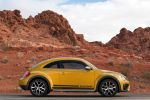 VW Volkswagen Beetle Dune Coupe Crossover Offroad Canyon Käfer Sandstorm Yellow Metallic Internet Smartphone App Connect Konnektivität Seite