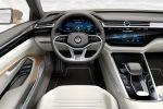 VW Volkswagen C Coupe GTE Concept Plug-in-Hybrid 2.0 TSI Benziner Elektromotor Lithium Ionen Batterie Aufladen Active Info Display digitales Kombiinstrument Media Control Modul Chauffeur Sportlimousine Interieur Innenraum Cockpit