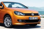 VW Volkswagen Golf Cabriolet 2016 1.4 1.2 TSI Turbo 2.0 TDI DSG Softtop Facelift Honey Orange Metallic Infotainment Front