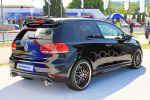 VW Volkswagen Golf GTI Black Dynamic 2.0 Turbo Azubi Auszubildende Wörthersee Heck Seite Ansicht