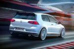 VW Volkswagen Golf GTI Clubsport 2.0 TSI Turbo 40 Jubiläum Heck Seite