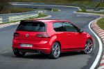 VW Volkswagen Golf GTI Clubsport S 2.0 TSI Vierzylinder Turbobenziner Hot Hatch Kompaktsportler 40 Jahre GTI Jubiläum Performance Zweitürer Gewicht Preis XDS Quersperrdifferential Nürburgring Nordschleife Setting Rundenrekord Heck Seite