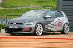 VW Volkswagen Golf GTI Heartbeat Wörtherseetour GTI Treffen 2016 Reifnitz 2.0 TSI Turbo EA888 Auszubildende Azubi BBS CI-R Felge Rad Bodykit Bilstein B16 Gewindefahrwerk Sportabgasanlage Auspuff Klappensteuerung Front Seite