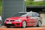 VW Volkswagen Golf R Variant Performance 35 Kombi P35 Wörtherseetour GTI Treffen 2016 Reifnitz 2.0 TSI Turbo DSG Auszubildende Azubi Tuning Leistungssteigerung OZ Ultraleggera Felge Rad Gewindefahrwerk Sportabgasanlage Auspuff Klappensteuerung Front Seite