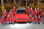 VW Volkswagen Golf R Variant Performance 35 Kombi P35 Wörtherseetour GTI Treffen 2016 Reifnitz 2.0 TSI Turbo DSG Auszubildende Azubi Tuning Leistungssteigerung OZ Ultraleggera Felge Rad Gewindefahrwerk Sportabgasanlage Auspuff Klappensteuerung Front
