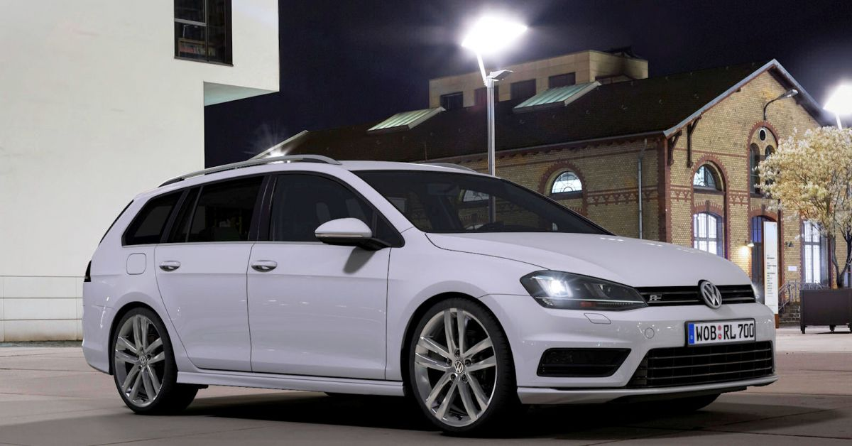 vw golf variant r line neue sportlichkeit die sich f hlen l sst speed heads. Black Bedroom Furniture Sets. Home Design Ideas