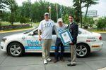 VW Volkswagen Passat 2.0 TDI Diesel Weltrekord Guinness World Records Verbrauchsfahrt USA Bob Winger Blogger Wayne Gerdes