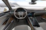 VW Volkswagen Sport Coupe Concept GTE CC Plug-in-Hybrid 3.0 TSI V6 Turbo Benziner Elektromotor DSG Lithium Ionen Batterie Aufladen Smartphone App Active Info Display digitales Kombiinstrument Media Control Modul biometrische Daten Interieur Innenraum Cockpit