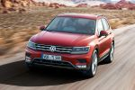 VW Volkswagen Tiguan 2016 Kompakt SUV Offroad TSI BiTDI Turbodiesel 4MOTION Active Control Allrad DSG Doppelkupplungsgetriebe Trendline Comfortline Highline Active Info Display virtuelles Cockpit Head-up-Display MirrorLink Car-Net Smartphone Tablet WLAN Internet Emergency Assist ACC Area View Front