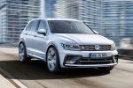 VW Volkswagen Tiguan R-Line 2016 Sportpaket Exterieurpaket Interieurpaket Kompakt SUV Offroad TSI BiTDI Turbodiesel 4MOTION Allrad Rad Felgen Sebring Suzuka Sportsitze Front Seite