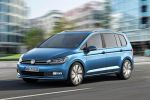 VW Volkswagen Touran 2015 Familien Kompakt Van TDI TSI DSG DCC Fold-Flat-Sitzanlage  ISOFIX Front Assist ACC City-Notbremsfunktion Trailer Assist Side Assist App Connect Internet Smartphone MirrorLink Android Auto CarPlay Front Seite