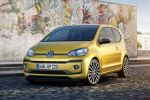 VW Volkswagen up! 2016 Kleinwagen Kleinstwagen 1.0 Dreizylinder TSI Turbobenziner Pure Air Composition Phone Infotainment Smartphone App BeatsAudio Soundanlage Front