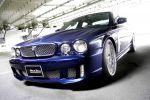 Wald International Jaguar XJ X350 Black Bison 4.2 V8 DTM TW240 Front Ansicht