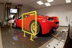 Wheelsandmore Ferrari 458 Italia V8 6Sporz2 Felgen Räder Prüfstand Heck Ansicht