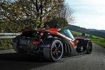 Wimmer Rennsporttechnik KTM X-Bow GT 2.0 TFSI Turbo Tuning Leichtbauweise Leichtgewicht Federgewicht Powerparts Sportwagen Heck
