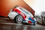 Wimmer RST Rennsporttechnik VW Volkswagen Polo R WRC Street Straßenversion 2.0 TSI Tuning Leistungssteigerung Sportversion Kleinwagen Rad Felgen OZ Superleggera Gewindefahrwerk World Rallye Championship Heck Seite