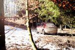 Nissan Juke Test - Offroad Wald Dreck Schlamm rot Schnee