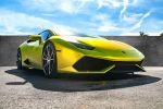 xXx Performance Lamborghini Huracan 5.2 V10 Supersportwagen Tuning Leistungssteigerung Oxigin Oxforged 4 Rad Felgen Tieferlegung Wrapping Vollfolierung Chrom Lime Matt Abgasanlage Auspuffanlage Front