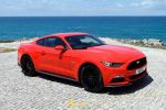 Ford Mustang GT Tomaten Heinz Ketchup Recycling Tomatenfaser Tomatenschale PET Kunststoff Front Seite