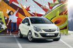 Opel Corsa Satellite Facelift Lena Meyer-Landrut Eurovision Front Ansicht